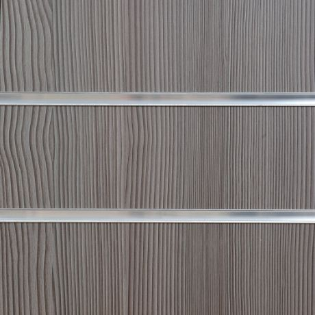 1013A Pino Grey Slatwall Panel 8FT X 4FT (2400mm x 1200mm)