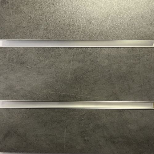 Dark Concrete Effect Melamine MDF Slatwall Panel 4ft x 4ft  (1200mm x 1200mm )