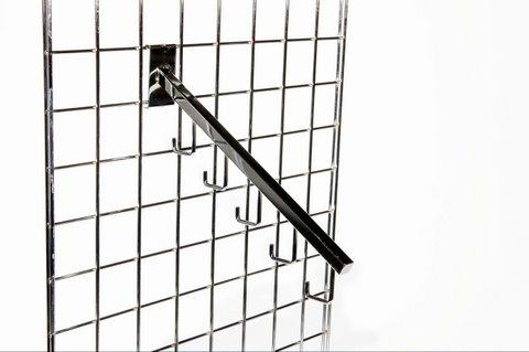 Gridwall | Grid wall 5 Hooks Slopping Arm Box of 25