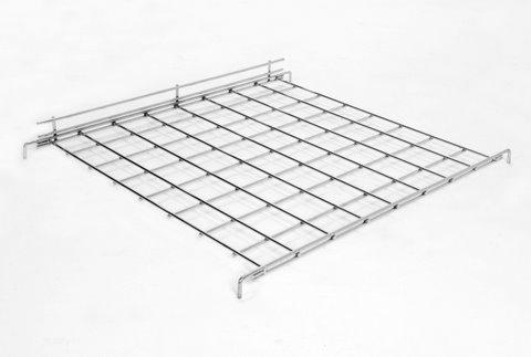 Gridwall | Grid wall Shelf With Front Lip Box of 6