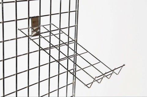 Gridwall | Grid wall Shirt Easel Sloping Shelf Box of 10
