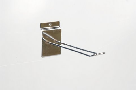 "10529 Slatwall 6"" Euro Hook Box of 100(F529)"
